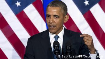 Portrait of US President Barack Obama Photo: SAUL LOEB/AFP/Getty Images