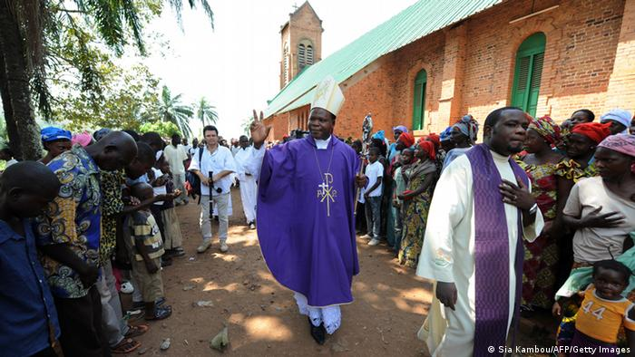 Dieudonné Nzapalainga Archbishop of Bangui Photo: SIA KAMBOU/AFP/Getty Images