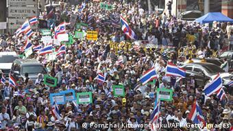 Antiregierungsproteste in Thailand 19.01.2014