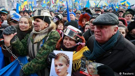 Demonstration und Proteste in Kiew 19.01.2014