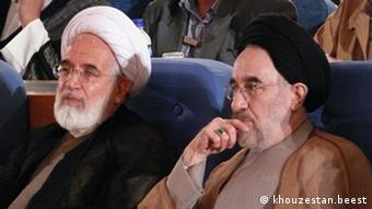 Mehdi Karoubi und Mohammad Khatami