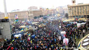 Протест на Майдане в Киеве (19.01.2014)