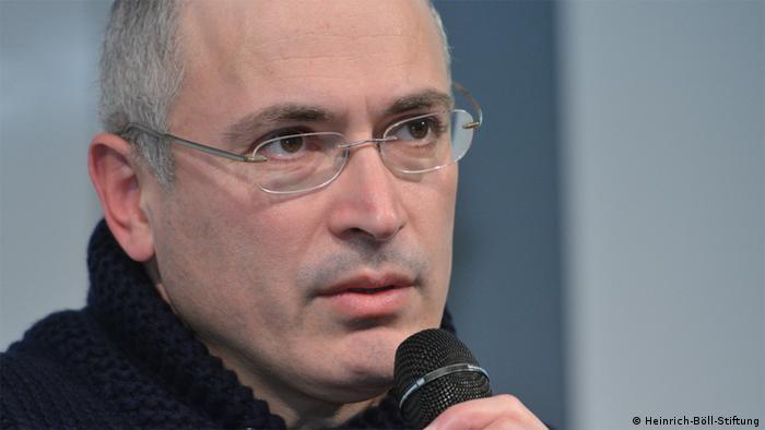 Михаил Ходорковский в фонде имени Бёлля 19 января 2014 года