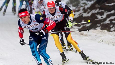 Tobias Angerer beim Cross Country Skiing World Cup in Polen