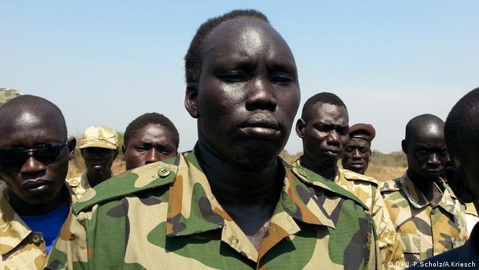 Bildergalerie Südsudan Der jüngste Staat der Welt versinkt im Chaos - David Yau Yau (Foto: Jan-Philipp Scholz/Adrian Kriesch)