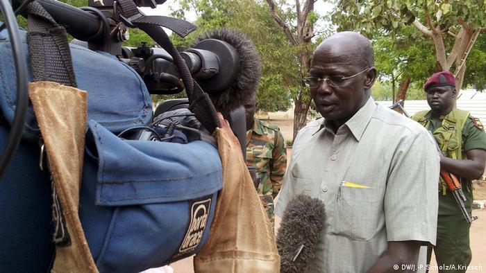 Bildergalerie Südsudan Der jüngste Staat der Welt versinkt im Chaos - Simon Kun Puoch (Foto: Jan-Philipp Scholz/Adrian Kriesch)