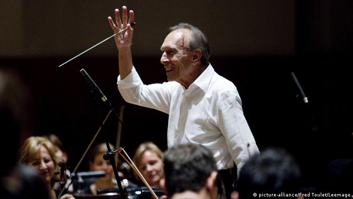 Claudio Abbado Dirigent, Photo: picture-alliance/Fred Toulet/Leemage