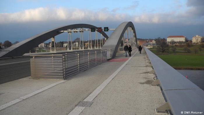 Die Waldschlösschenbrücke in Dresden