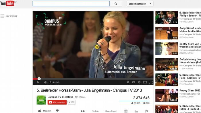 Screenshot Julia Engelmann