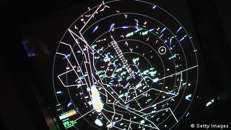 Symbolbild Radarschirm Flufhafen