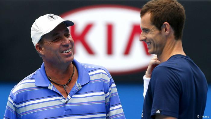 Ivan Lendl und Andy Murray