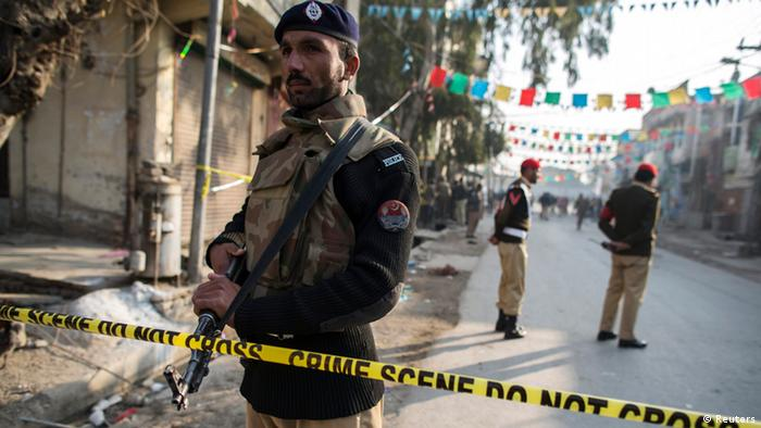 Pakistan Anschlag in Rawalpini 20.01.2014