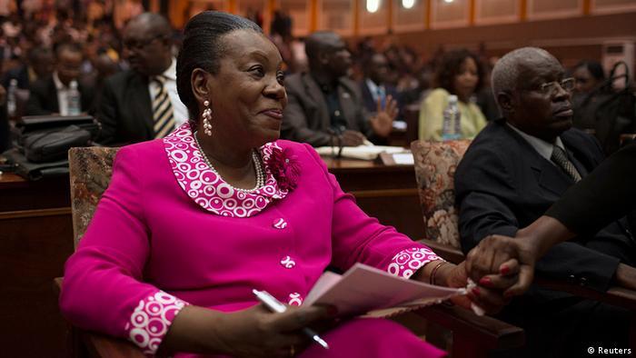Catherine Samba-Panza, Central African Republic interim president