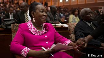 Catherine Samba-Panza,Interim President of the Central African Republic (Photo: REUTERS/Siegfried Modola)