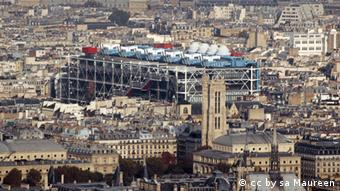Das Centre Pompidou in Paris (Foto: http://commons.wikimedia.org/wiki/File:Centre_Beaubourg_2009.jpg?uselang=de)