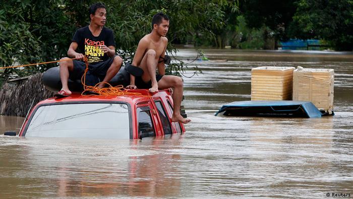 Butuan Philippinen Flut Überschwemmung Umweltkatastrophe Agaton