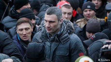 Vitaly Klitschko Ukraine Ausschreitungen Proteste