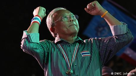 Anti-government protest leader Suthep Thaungsuban
