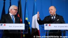 Laurent Fabius & Frank-Walter Steinmeier in Paris 21.01.2014