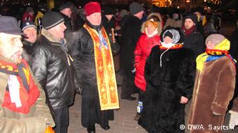 Demonstration und Proteste in Kiew 21.01.2014