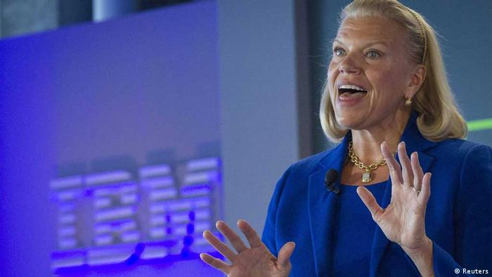 Ginni Rometty, IBM-Chief