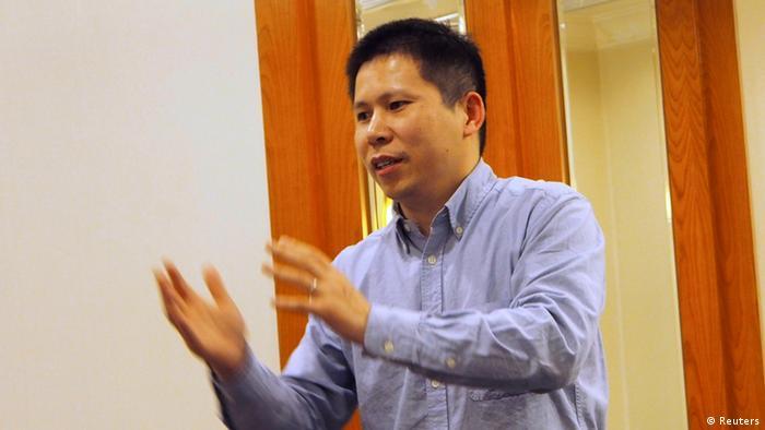 Archivbild Prozess gegen führenden Dissidenten Xu Zhiyong in China