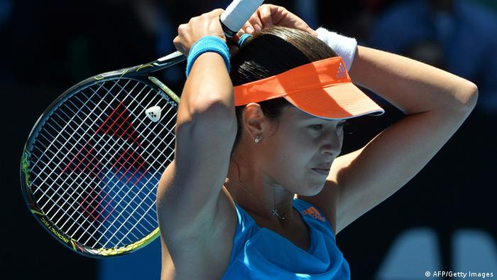 Australian Open 2014 Favoriten scheiden aus Ana Ivanovic