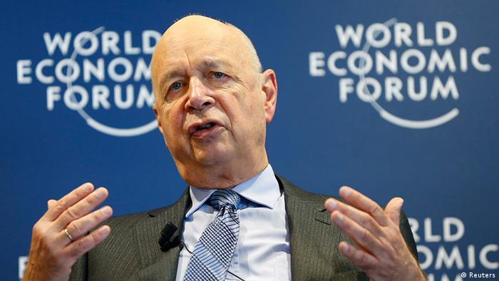 Schweiz World Economic Forum 2014 Klaus Schwab