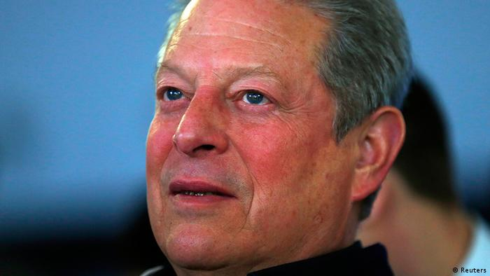 Al Gore, former US vice-president, is one of the speakers at this year's event