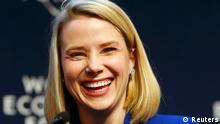 Schweiz USA World Economic Forum 2014 Marissa Mayer von Yahoo