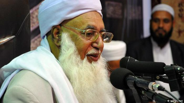 مولانا محمدحسین گرگیج، امام جمعه اهل سنت آزادشهر