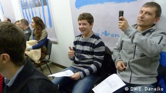 Участники курсов белорусского языка в Минске