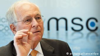 Wolfgang Ischinger Münchener Sicherheitskonferenz 22.01.2014