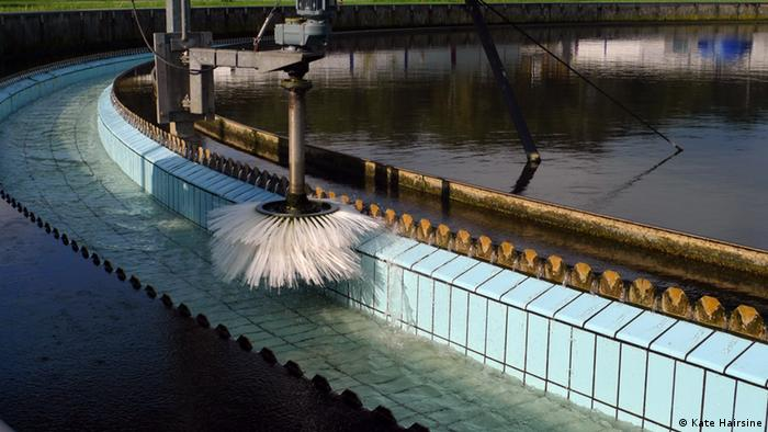 The Karlsruhe sewage facility is one of few trying to remove drug residues from waste water