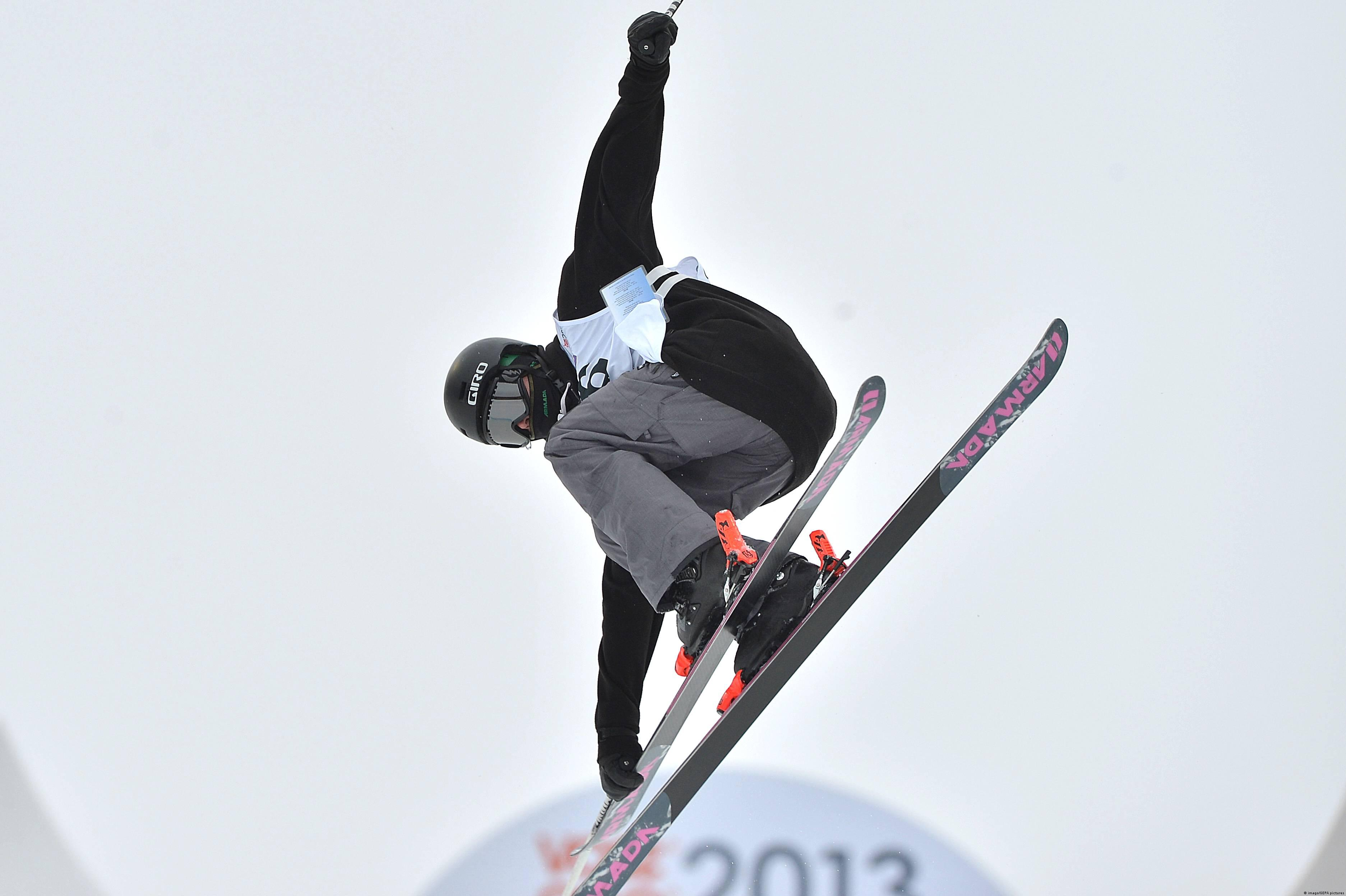 Britische Jungferninseln freestyle Ski Peter Crook