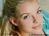 Yvonne Catterfeld en la telenovela alemana