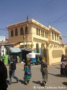 Markt Harar Äthiopien