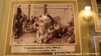 A photograph of a Jewish ghetto (c) Jüdisches Museum Czernowitz