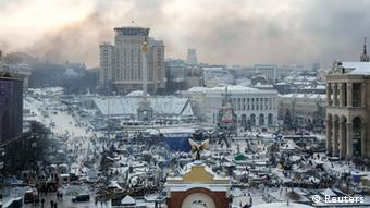 Independence Square in Kyiv (c) Reuters