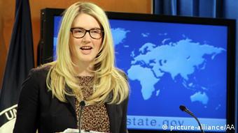 Marie Harf Porträt Sprecherin USA