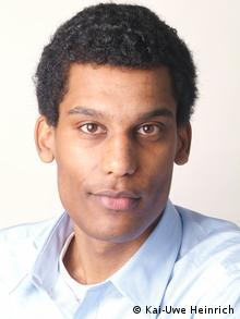 Journalist Marvin Oppong (Foto: Kai-Uwe Heinrich)