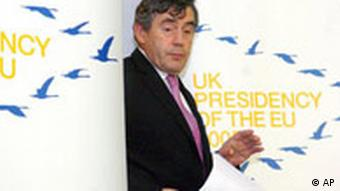 EU-Finazministertreffen in Luxemburg Gordon Brown