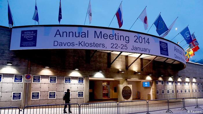 Davos Schweiz 2014 WEF Weltwirtschaftsforum (Foto: rtr)