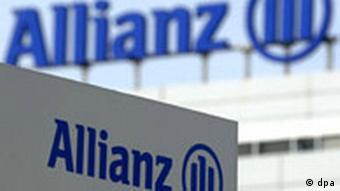 Das Logo des Versicherungskonzerns Allianz auf dem Dach der Firmenzentrale in Unterföhring bei München (Foto: dpa)