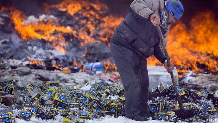 Bildergalerie Iran KW4 Schmuggelware