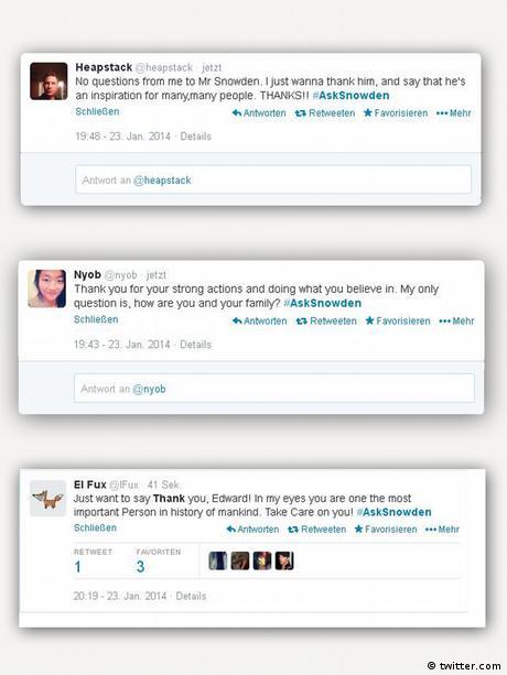Screenshot Twitter Asksnowden EINSCHRÄNKUNG