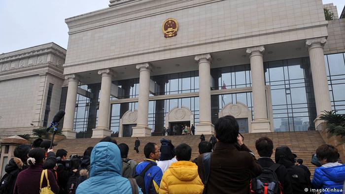 China Gerichtegebäude in Guangzhou (imago/Xinhua)