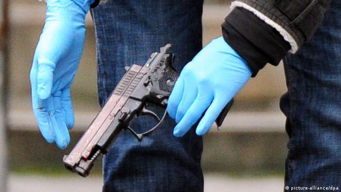 Schießerei am Landgericht in Frankfurt