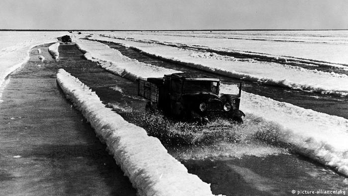 Sowjetunion Deutschland zweiter Weltkrieg Blockade Leningrad Lagoda See