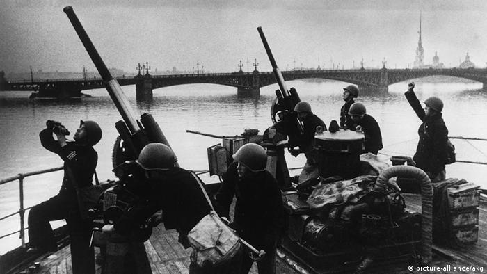 Sowjetunion Deutschland zweiter Weltkrieg Blockade Leningrad Luftabwehr